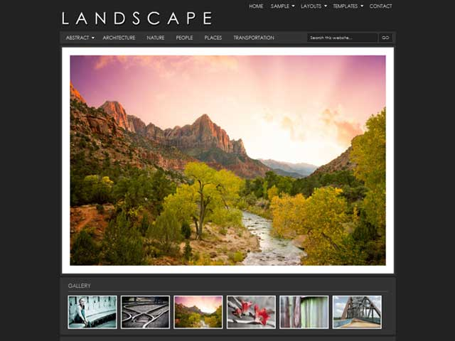 Landscape Child Theme